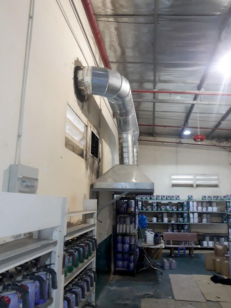 空气除臭处理工程