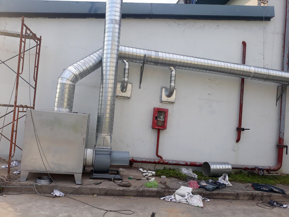 Hệ thống xử lý mùi