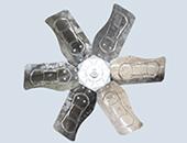 Cánh quạt công nghiệp thông gió EFON tôn kẽm/inox 304